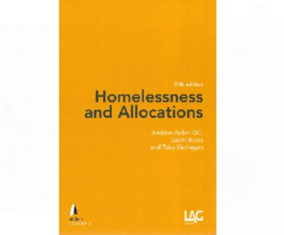 New edition of 'Homelessness and Allocations' published