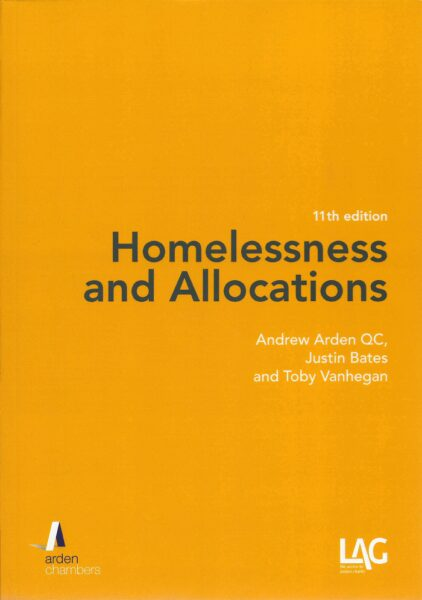 Homelessness and Allocations book cover