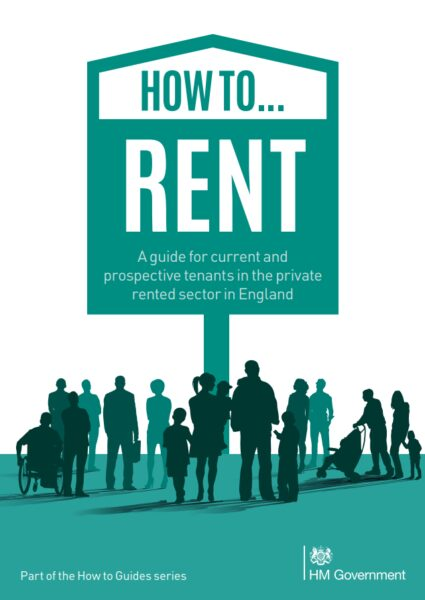 Cover of the 'How to Rent' guide