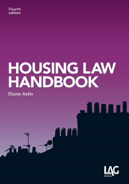 Cover of 'Housing Law Handbook' by Diane Astin