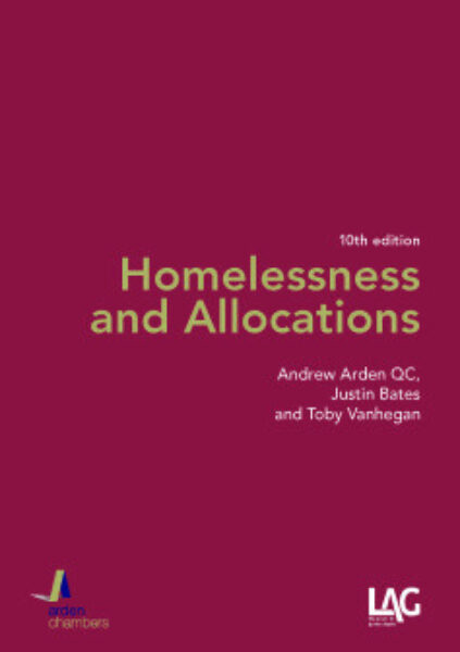 Cover of 'Homelessness and Allocations'