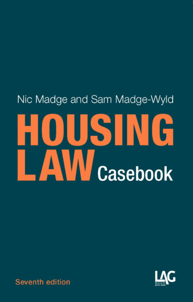 Cover of 'Housing Law Casebook'