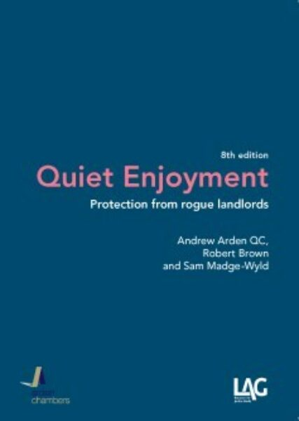 Cover of 'Quiet Enjoyment: Protection from rogue landlords'