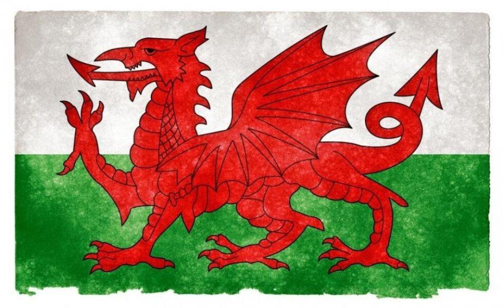 Y Ddraig Goch / The flag of Wales
